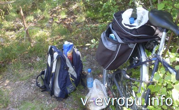 Туристическое оборудование  для поездки по Европе на велосипеде