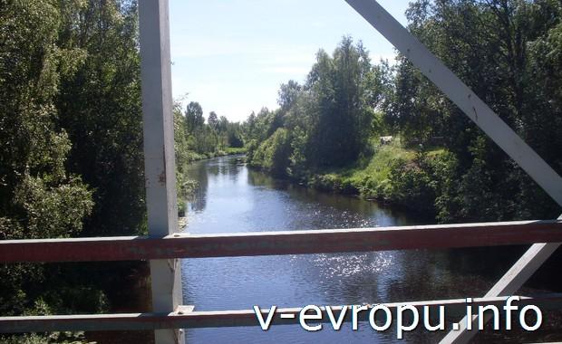 Красоты Финляндии на реке Умео