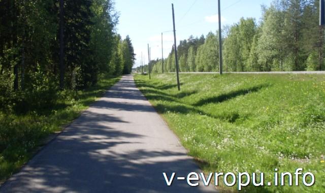 Велосипедные дорожки Финляндии