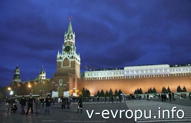 Звезды на Красной площади