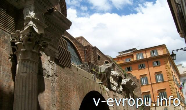 Италия. Рим. Как правильно питаться в путешествии