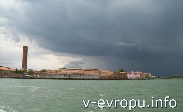 Море в Венеции