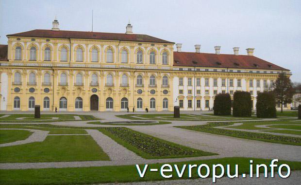 Замок Шляйсхайм в Мюнхене