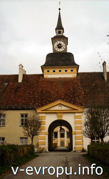 Королевская архитектура замка Шляйсхайм