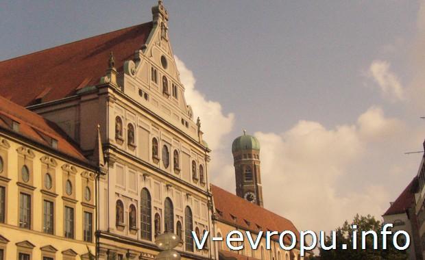 В альтштадте Мюнхена