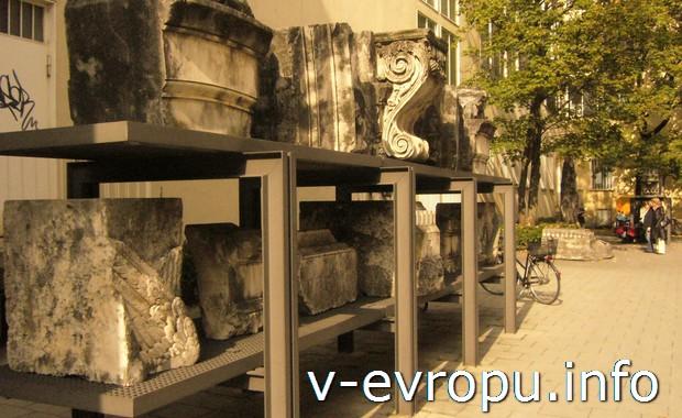 Археологический музей под открытым небом в Мюнхене
