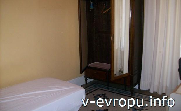 Номер в обычной гостинице Малаги