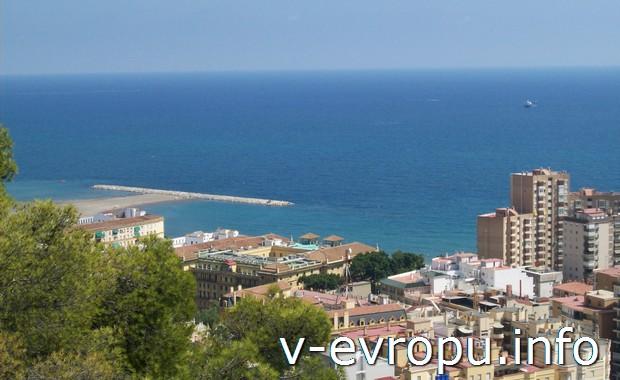 Малага - популярный курорт Испании