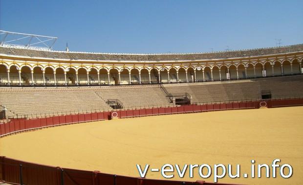 Арена для боя быков в Севильи