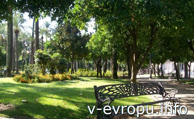 Городской парк в Кордове
