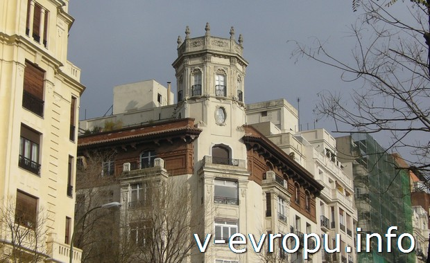 Мадрид в январе