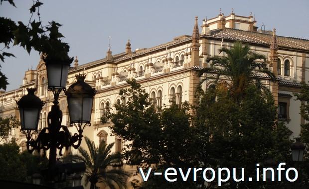 В центре Севильи. Испания