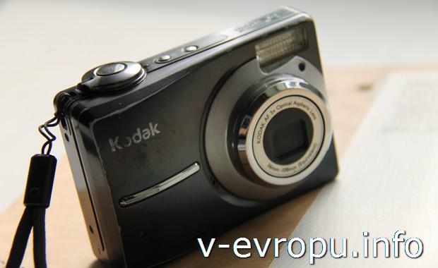 Фотоаппарат туриста для снимков достопримечательностей
