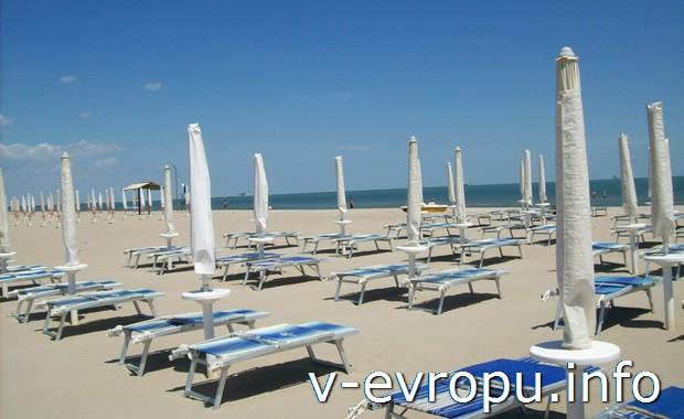 Пляжи Равенны в мае
