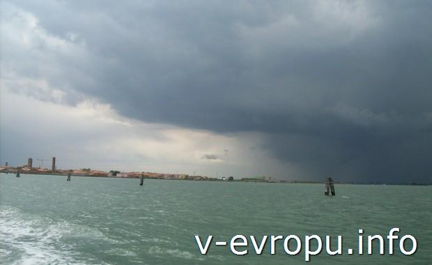 Море в Венецианской лагуне