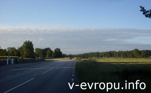 Дороги Скандинавии (Норртелье, Швеция)