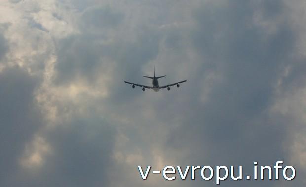 В Европу самолетом