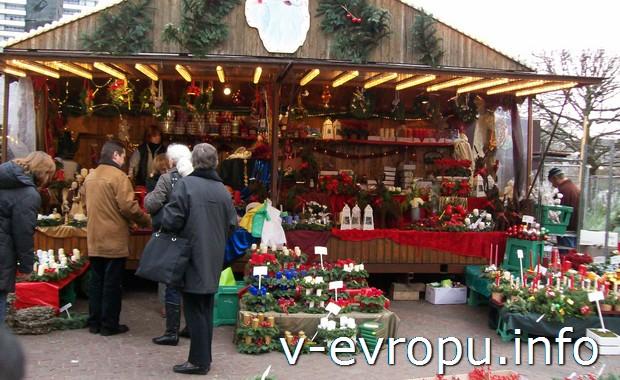 Рождественские базары в Дюссельдорфе