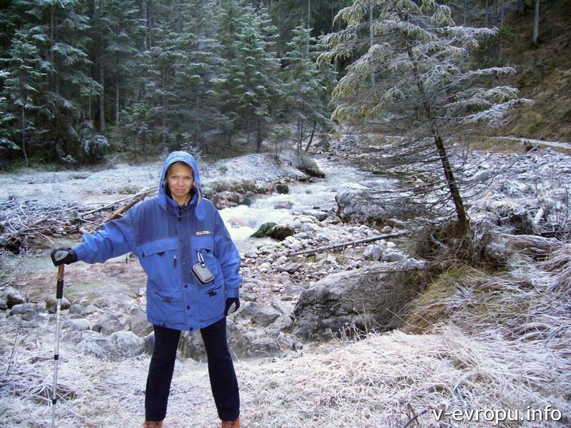Долина Рейнтал - путь к вершине Цугшпитце