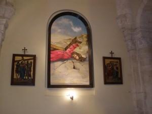 3 станций Виа Долорозы - падение Иисуса