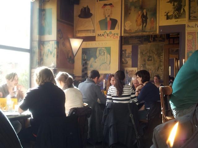 Типичный завтрак в Дюссельдорфе