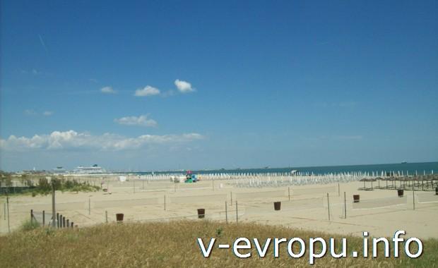 Пляжи Равенны (Адриатика)