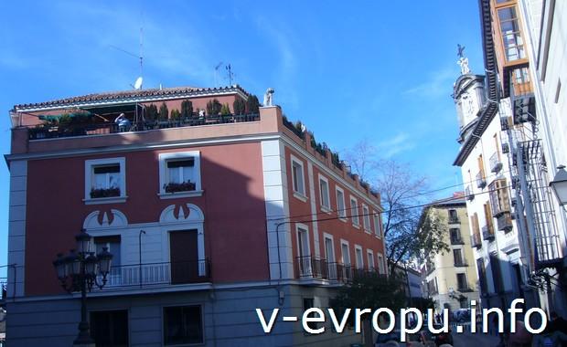 Улицы Мадрида (январь)