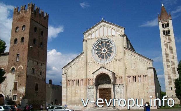 Церковь Сан-Дзено Маджоре в Вероне