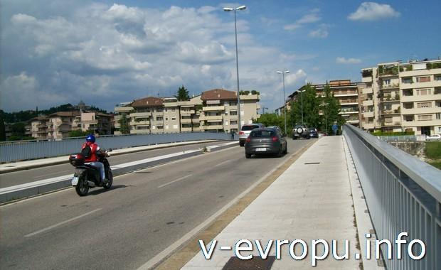 Дороги в Вероне (Италия)