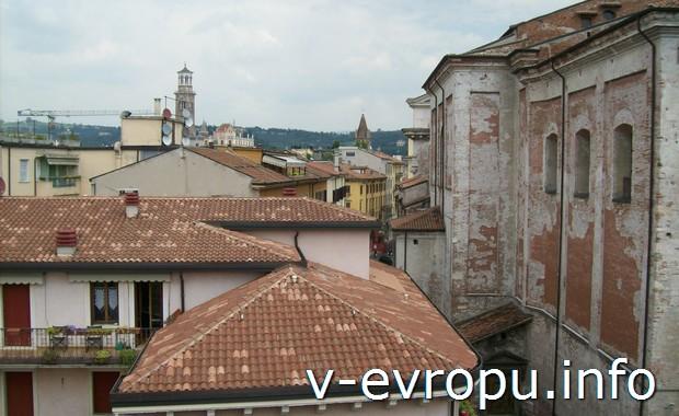 Крыши Вероны