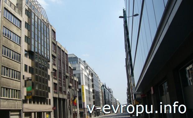 Брюссель - город контрастов.