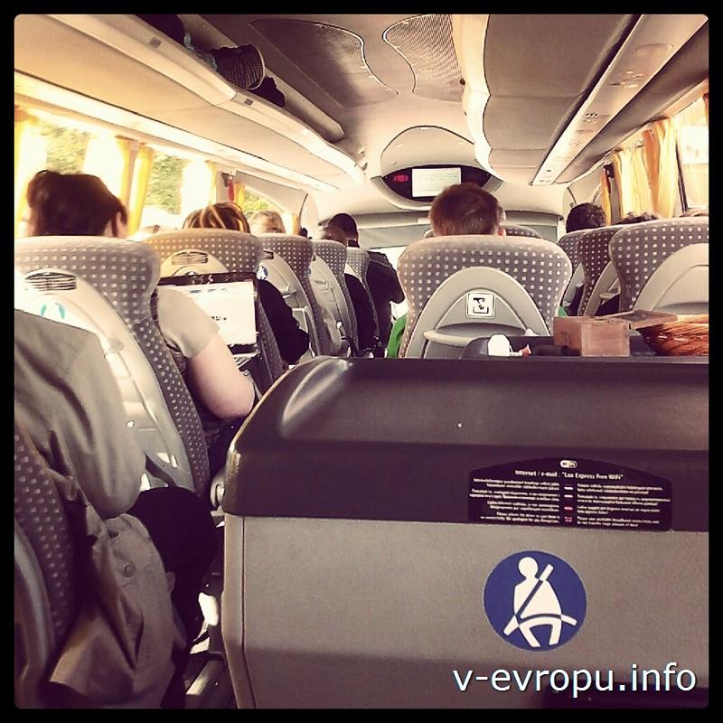 Междугородние автобусы Эстонии оснащены кондиционером, туалетом, чай/кофе стойкой и бесплатным интернетом.
