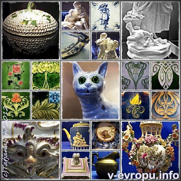 В коллекции музея керамики в Дюссельдорфе есть произведения практически всех эпох и народов.
