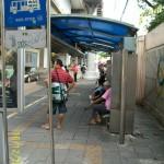 Остановка автобуса в Бангкоке
