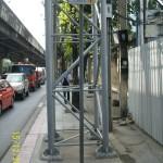 Указатель на вход в метро Бангкока MRT