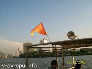 Маршрут с оранжевым флагом стоит 14 батт