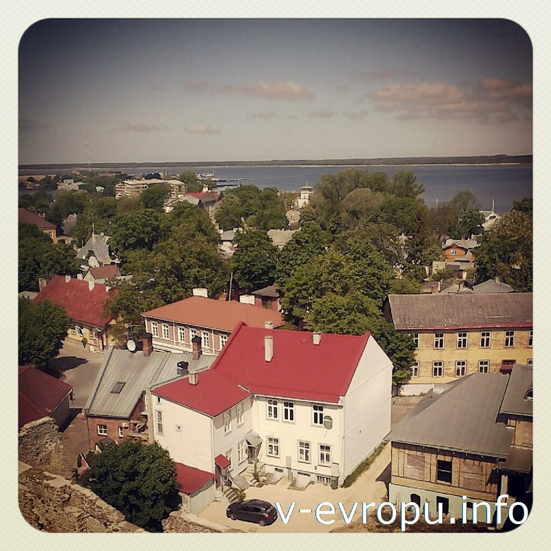 Хаапсалу - небольшой курортный город в Эстонии