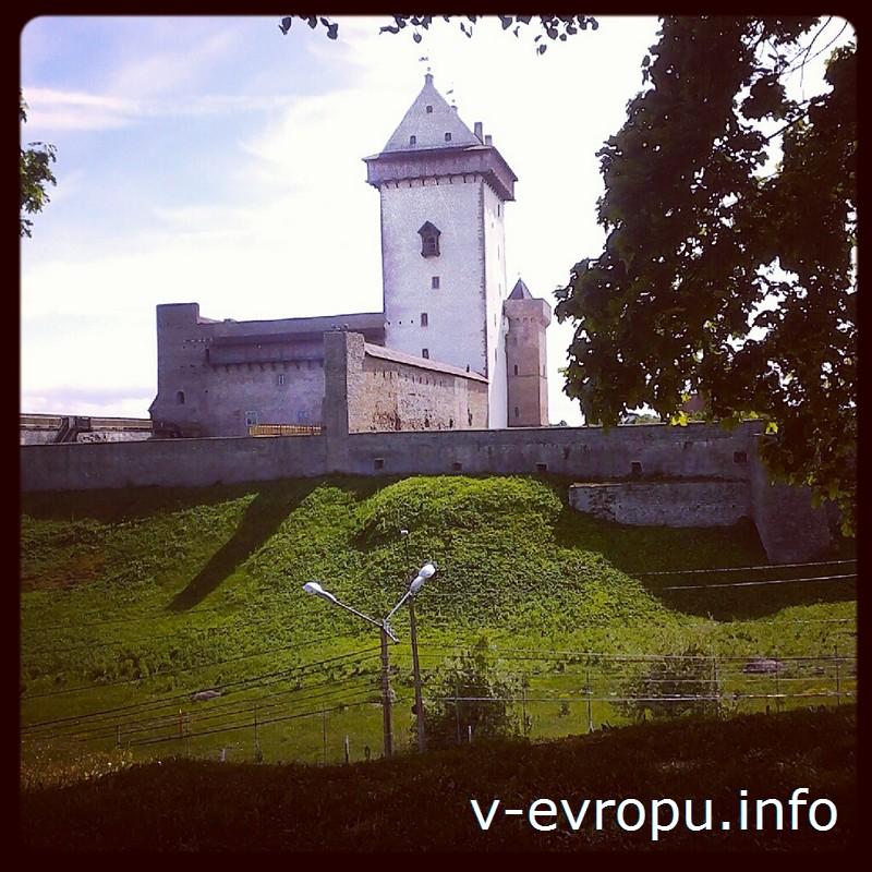 Башня Длинный Герман является символом Нарвы