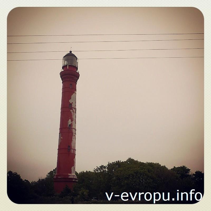 Самый высокий маяк Эстонии находится в городе Палдиски