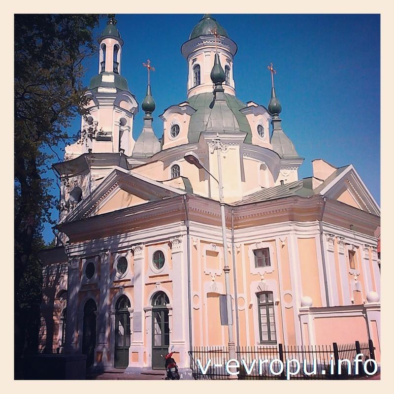 Екатерининская церковь в Пярну - жемчужина стиля барокко в Эстонии
