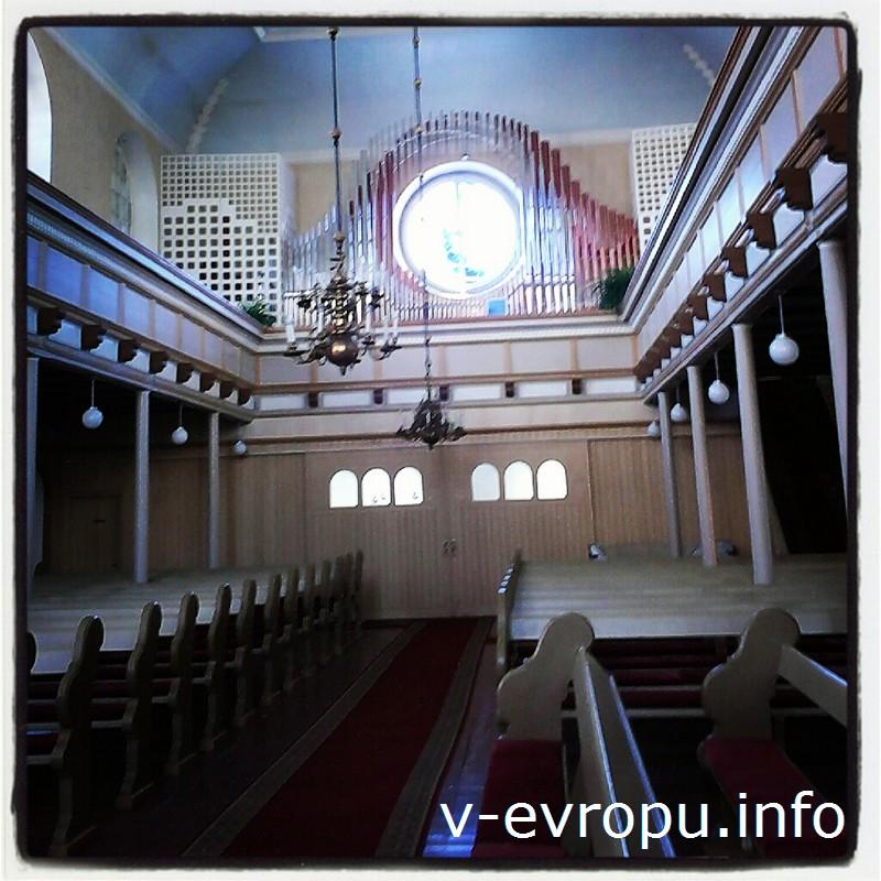 Один из лучших органов Эстонии находится в церкви Святой Элизабеты в Пярну