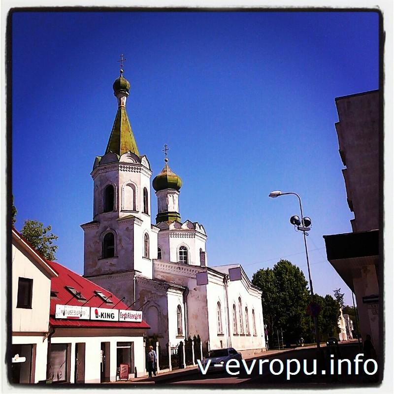 Православный храм в Раквере