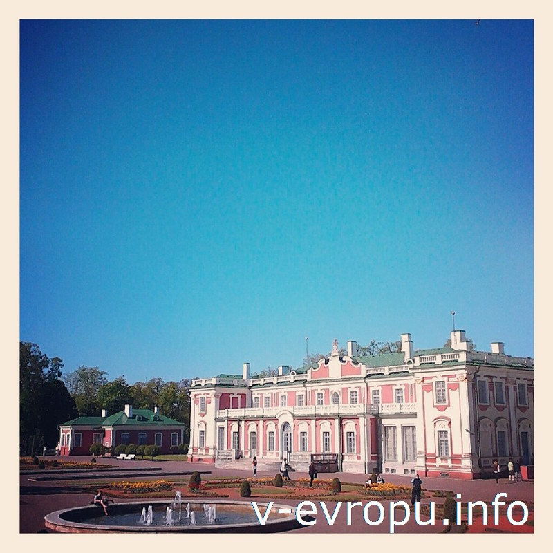 Кадриоргский дворец был подарком Петра Великого своей жене Екатерине