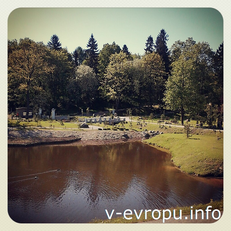 Покой и умиротворение царят в Японском садике в Кадриоргском парке