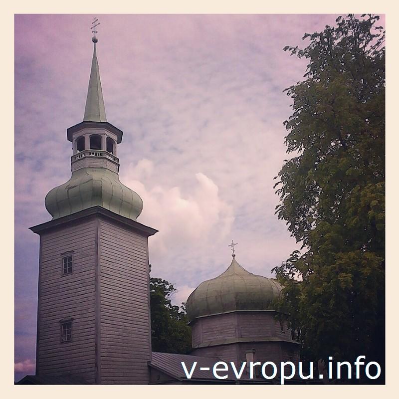 Рождества Богородицы Казанская церковь в Таллине является шедевром деревянного зодчества 18-го века