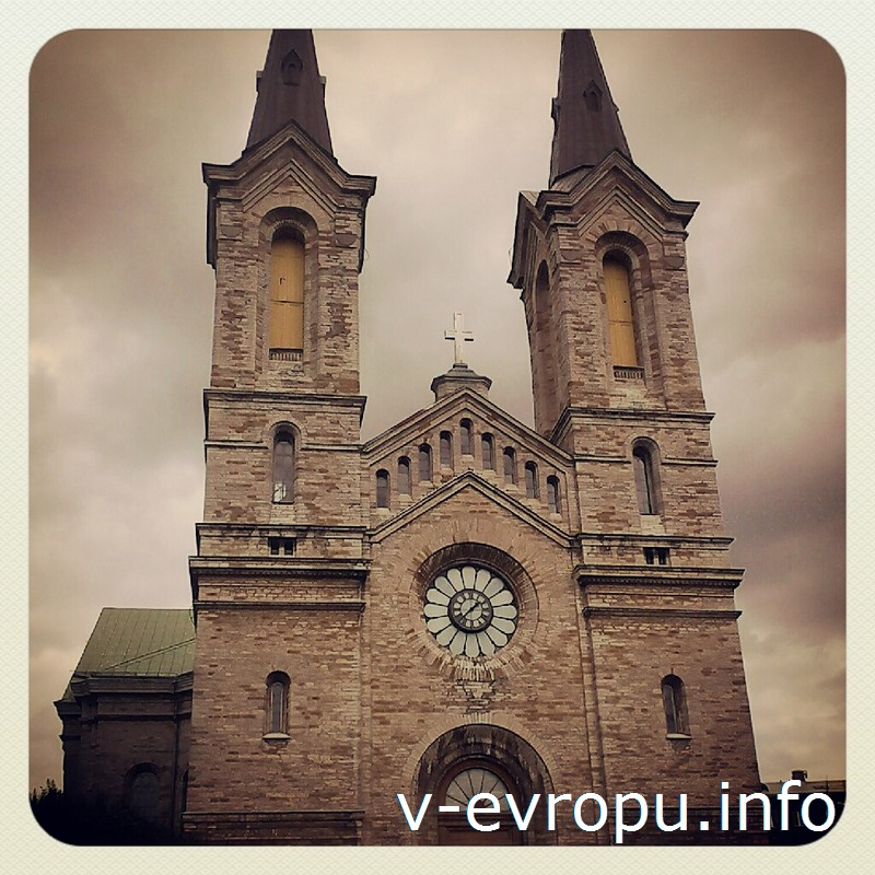 Церковь Каарли - самое большое религиозное здание Эстонии