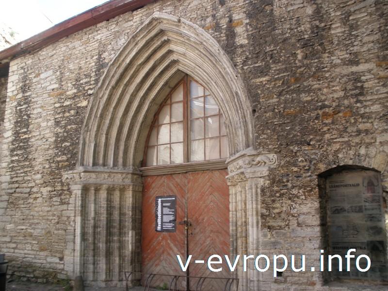 После пожаров 16 века от Доминиканского монастыря сохранились лишь стены