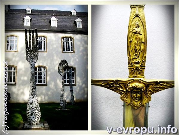 В музеее клинков в городе Золинген.