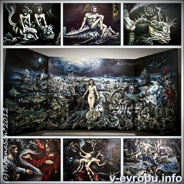 Триптих Классическая Вальпургиева ночь