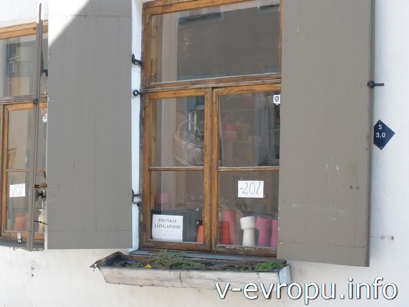 В Старом Городе Таллина есть множество маленьких магазинчиков по продаже пряжи